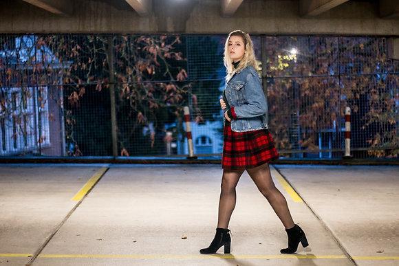 Scottish Plaid Skirt