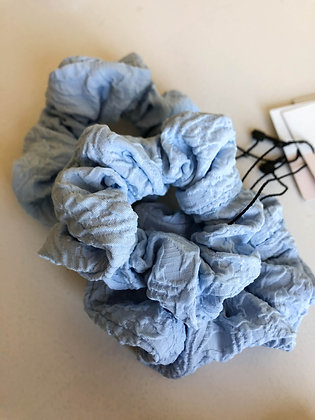 Baby Blue | Sustainable Scrunchie