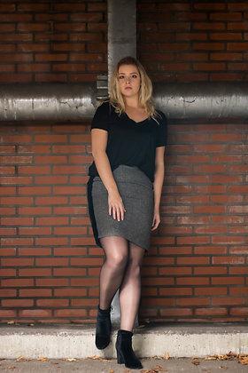Velvet Sided Skirt