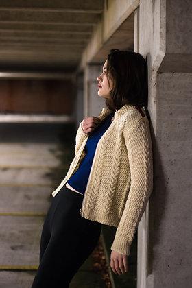 Velvet Stripe Knitted Vest