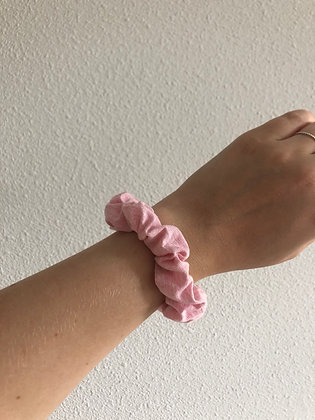 Pretty in Pink | Sustainable Scrunchie