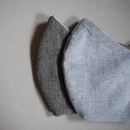 Dusty x Blue | Reversible face mask 2.0