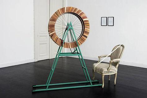 Andrew Webb, TheAristocratic Hairline Machine, 1997