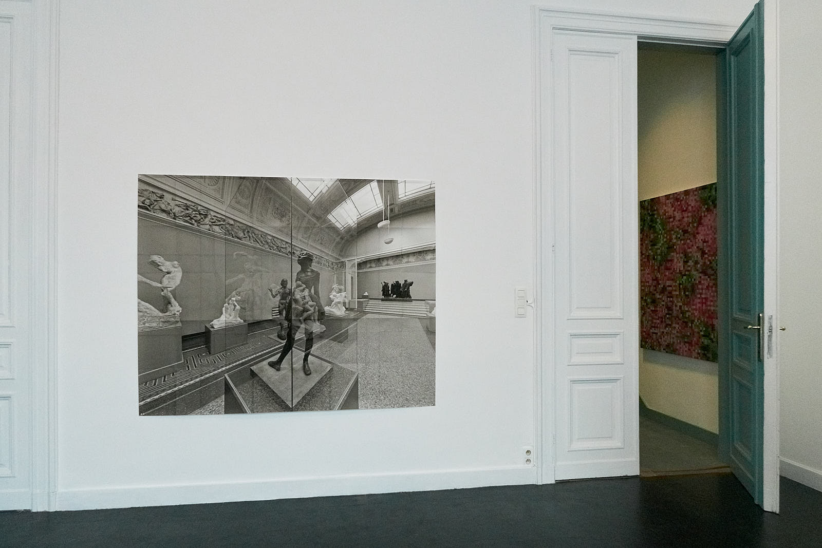 Exhibition view Marc De Blieck Traces 2021