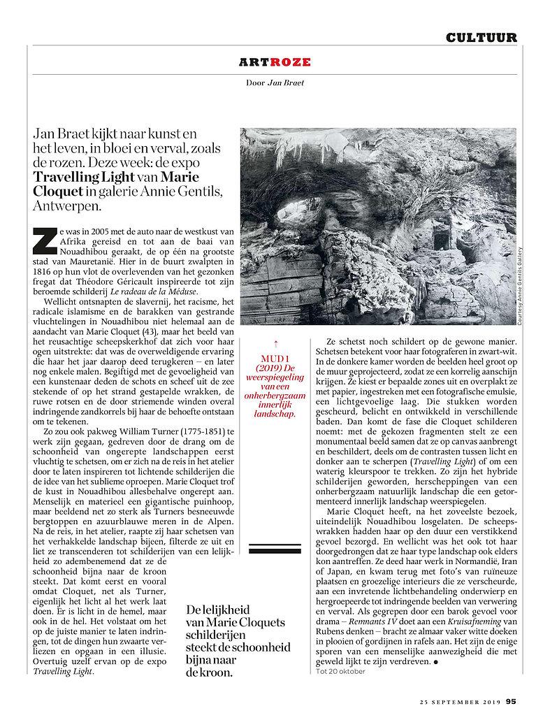 Jan Braet - Marie Cloquet - Knack 25_09_