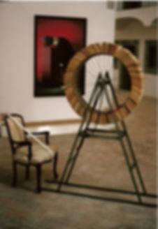 Andrew Webb, Aristocratic hairline machine, 1997