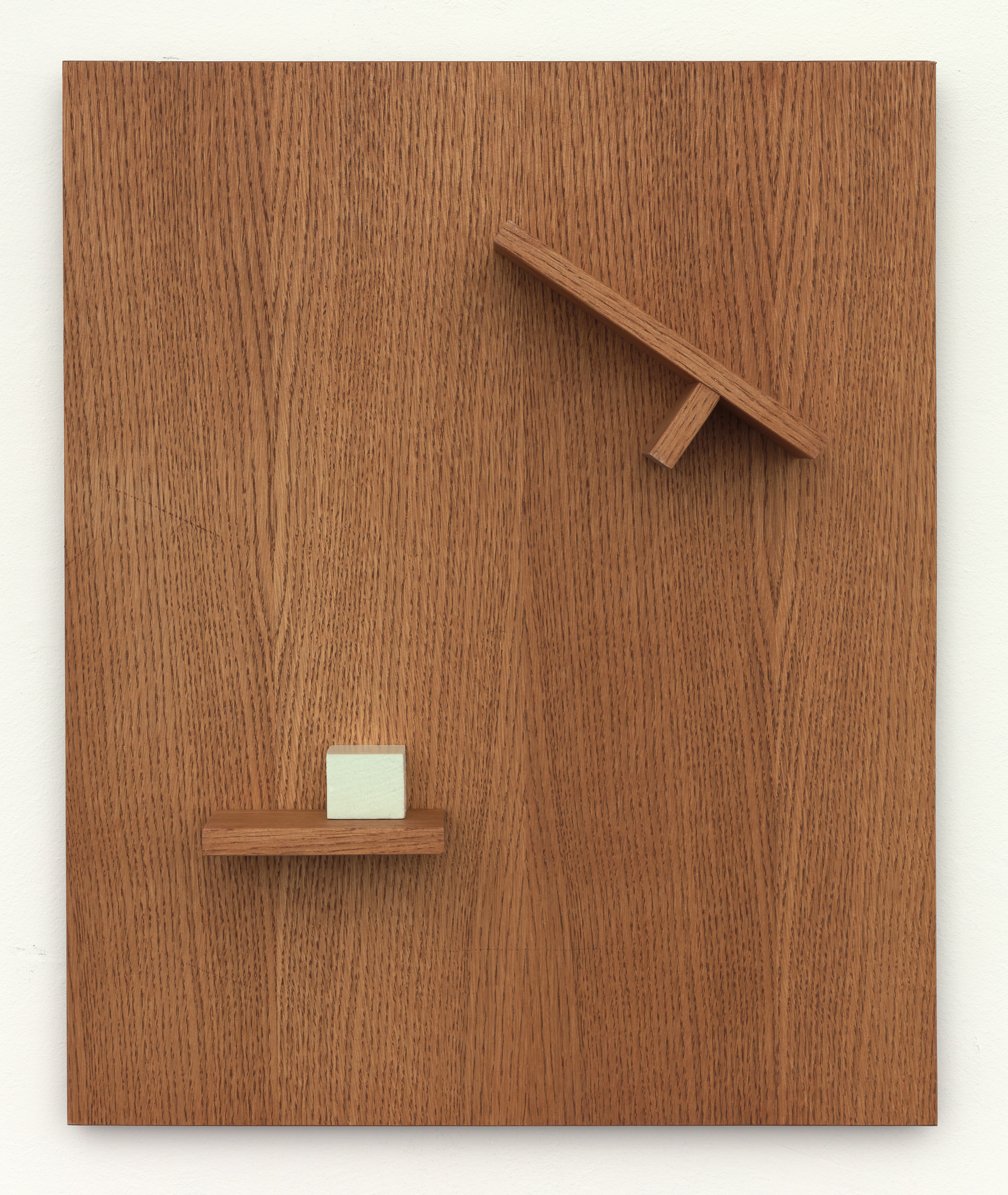 Wesley Meuris - Replacing (2 shelves, 1 cube), 2020