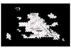 DELEU . MODELSCAPE (landforms) witzwart KL