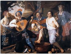 Theodoor Rombouts / Guy Rombouts, The 5 senses, 1532 - 1982