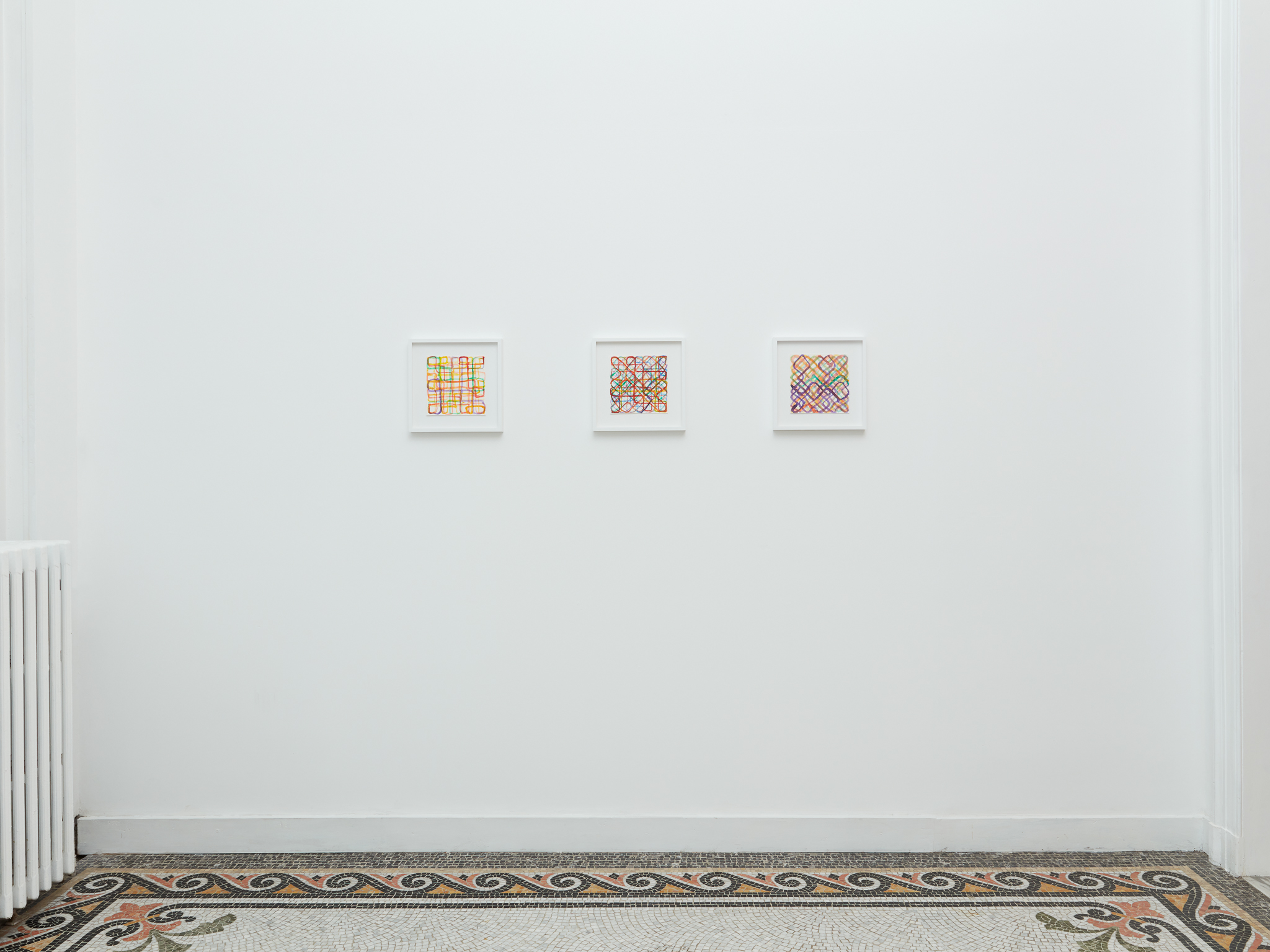 Marc Rossignol - Exhibition view Entre- deux