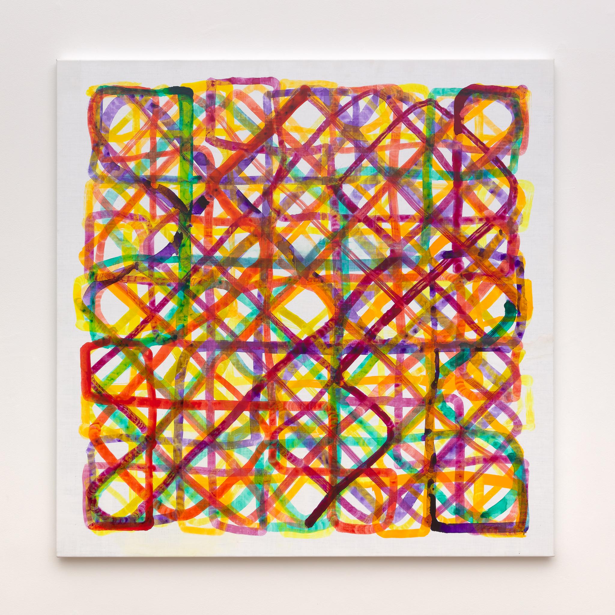 Marc Rossignol - Network + x - Y'2 / R'2 / B'2, 2020