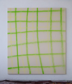 Klaas Kloosterboer - 18116, 2018, acryl aitbrush on cotton, 170 x 150 cm