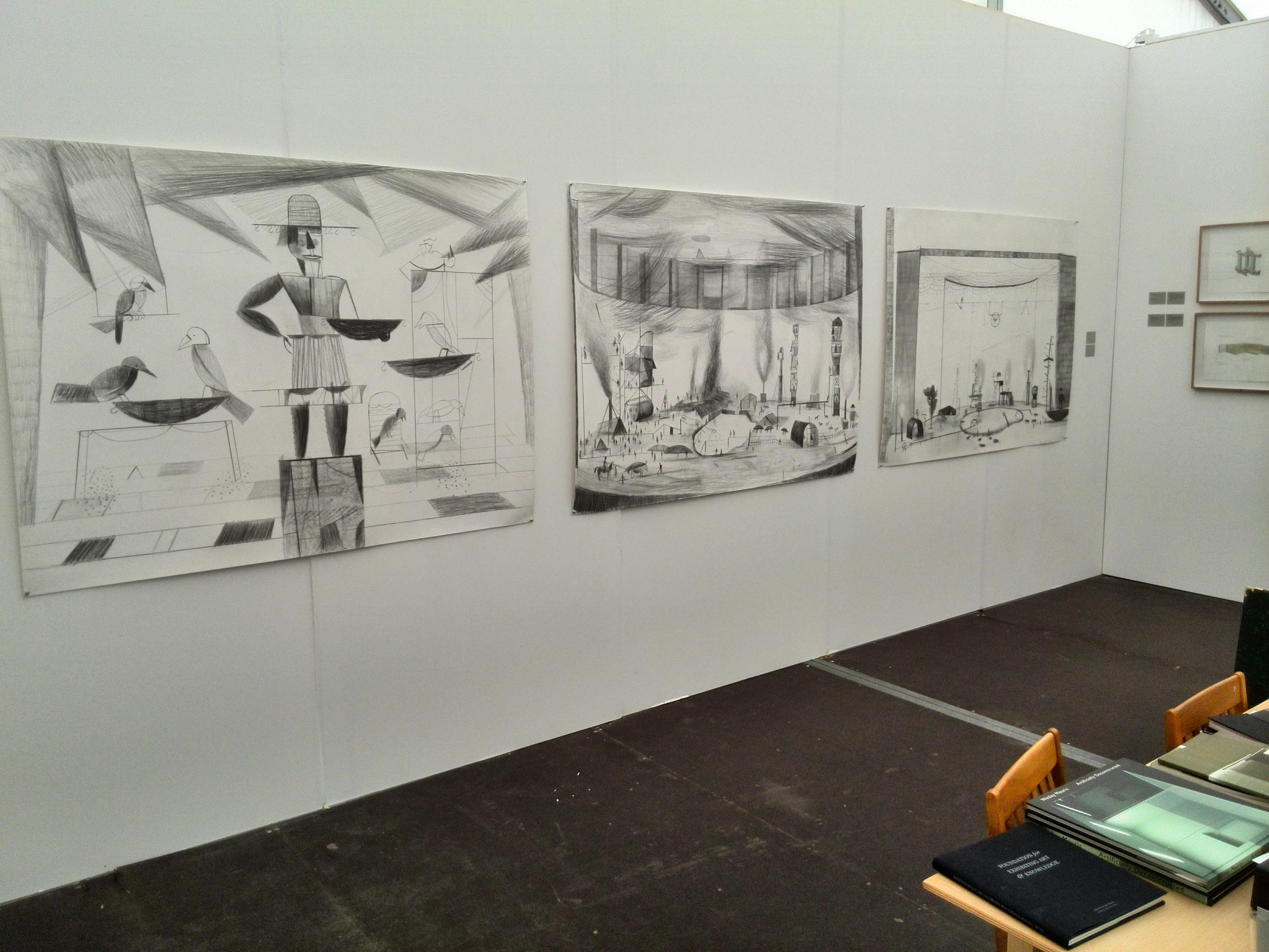Dirk Zoete Amsterdam Drawing