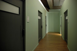 Corridors of Research Building