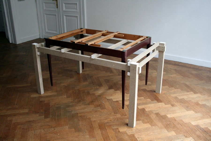 and another table