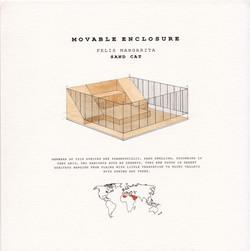Movable enclosure_Sand cat