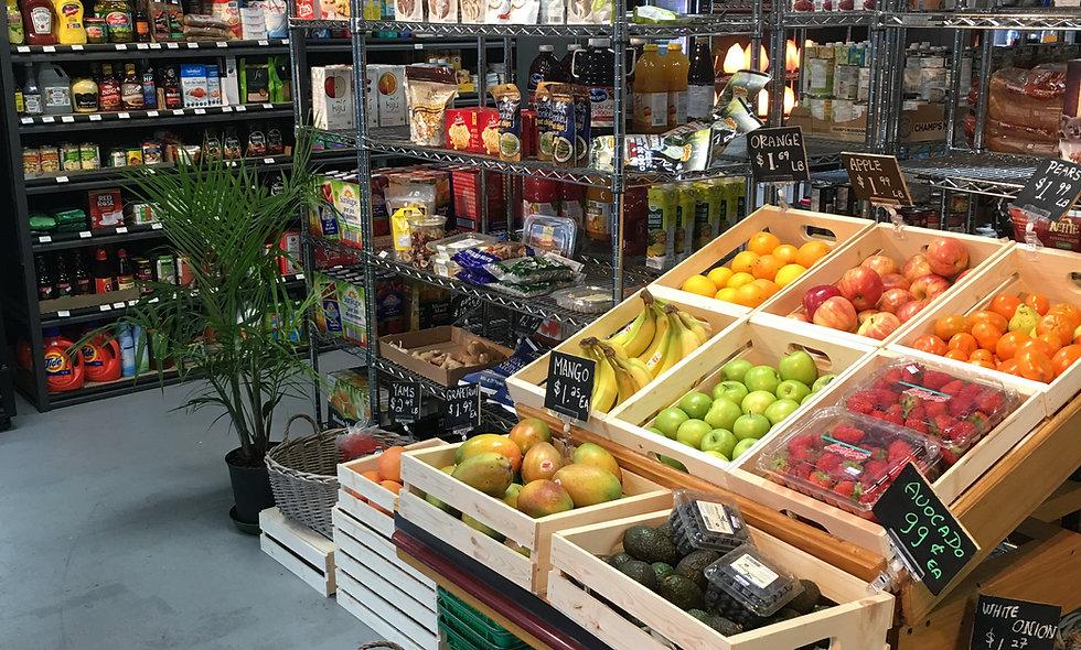 Organic & Local  Produce