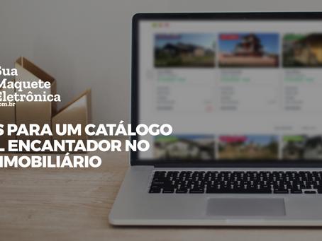 7 dicas para criar um catálogo digital encantador para o setor imobiliário