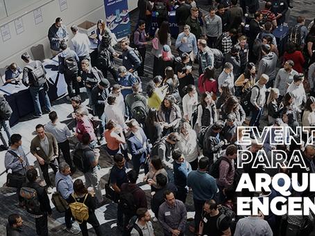 10 eventos para arquitetos e engenheiros em 2020