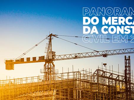 Panorama do mercado da construção civil em 2020