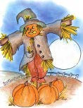 18 Scarecrow and pumpkin.jpg