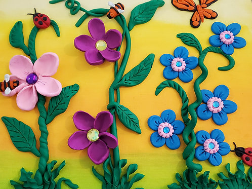 Celebrate Spring! Clay and Paint Project