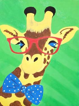 Giraffe with Glasses Painting.jpg