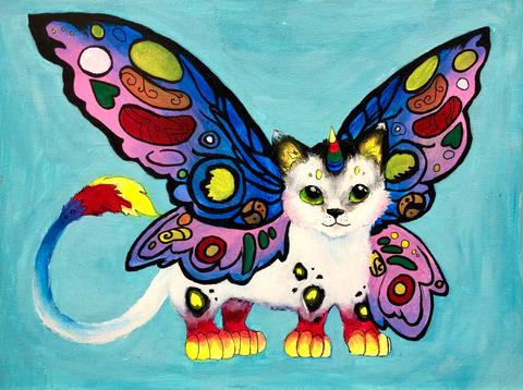 Butterfly Caticorn