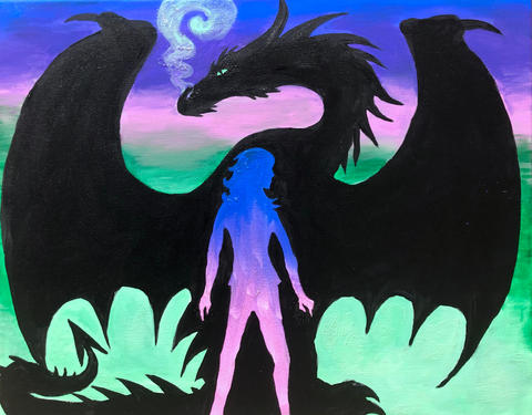 Malificent (Descendants) Dragon