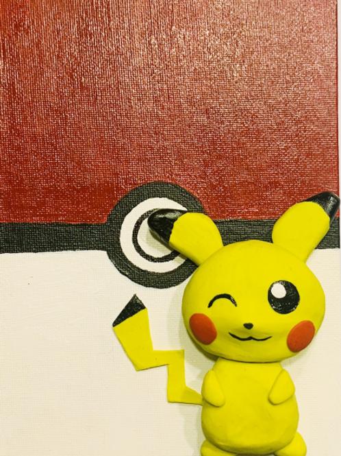 Pokemon Pikachu Clay & Paint Project