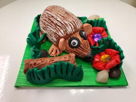 hedgehog clay.jpg