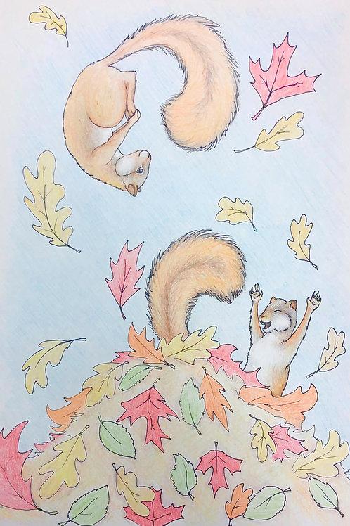 Fall Drawing Duo