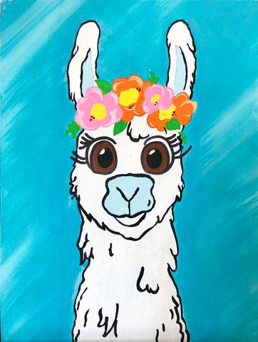 Flowery Llama
