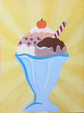 Ice Cream Sundae Painting.JPG