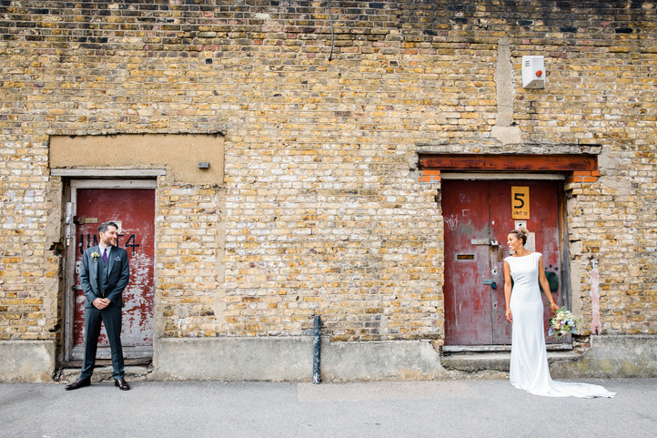 Urban Wedding with Colourful Edgy Vibes