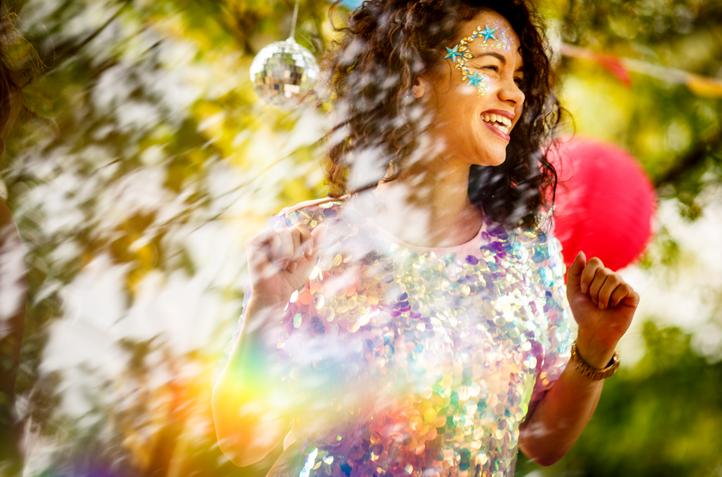 Festival Wedding Glitter Explosion!