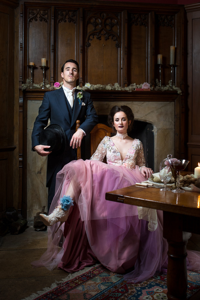 Down the Rabbit Hole: Hockwold Hall Captures the Victorian Wedding
