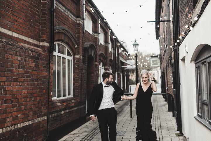 Ipswich Black Tie Waterfront Wedding Reception