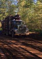 Haul truck loading