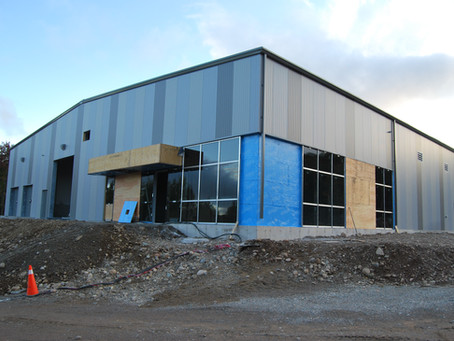 Maple Processing Facility is Nearing Completion!