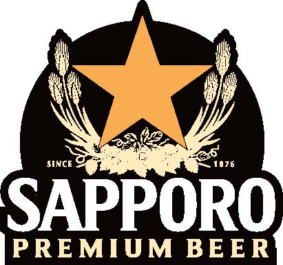 Sapporo Metal Tap Decal