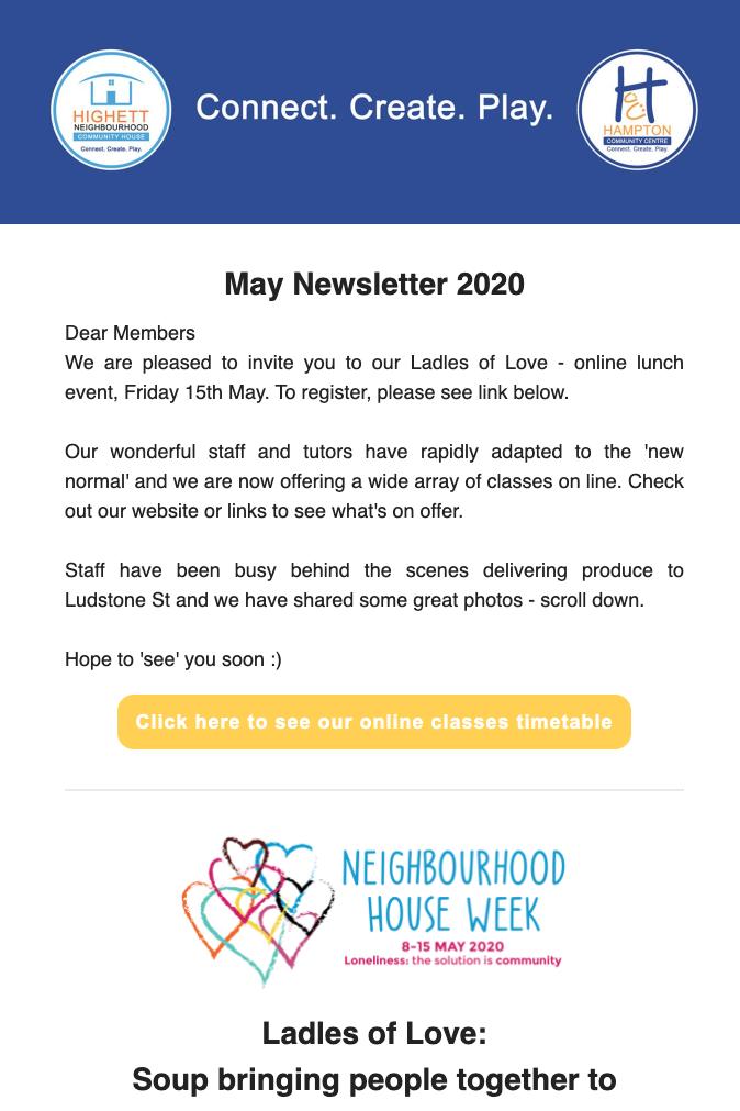 HCC eNews May 2020