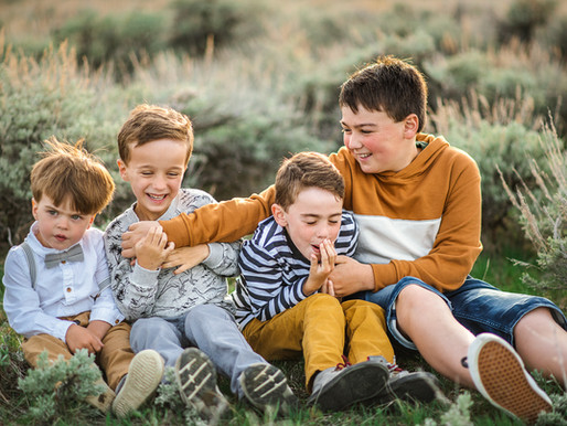 Dreamy Mountain Family Session
