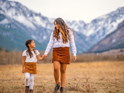 Fall Mountain Family Session