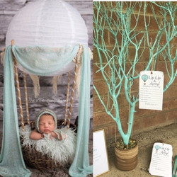 hot air balloon baby shower Tree