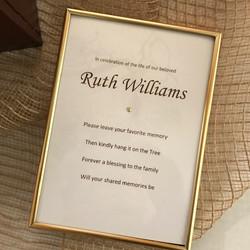 framed instructional poem