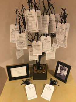 Eagles/ Golf Lover's Birthday Tree