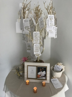 royal themed baby shower tree