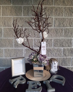 Natural Wedding Wish Tree