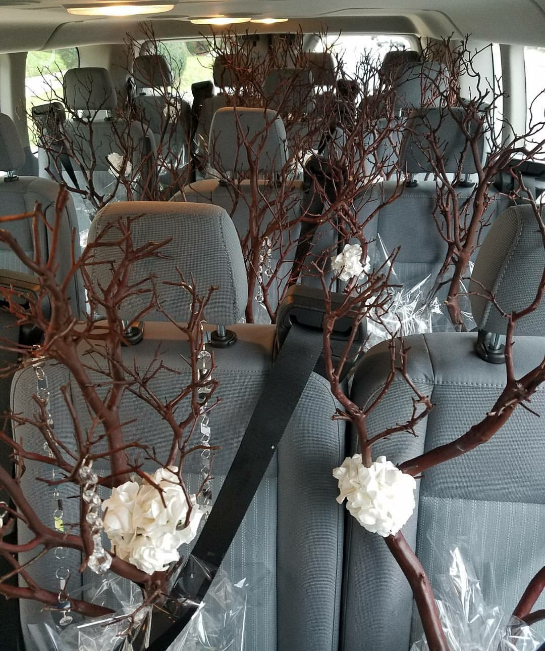 Wedding centerpieces In transit!